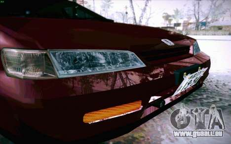 Honda Accord Wagon für GTA San Andreas obere Ansicht