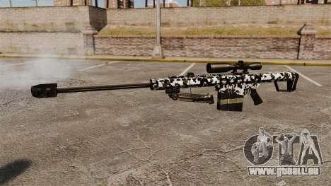 Le Barrett M82 sniper rifle v16 pour GTA 4 troisième écran