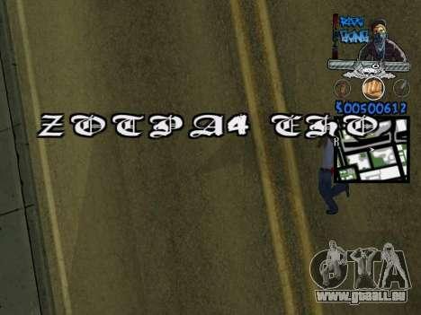 C-HUD für GTA San Andreas fünften Screenshot