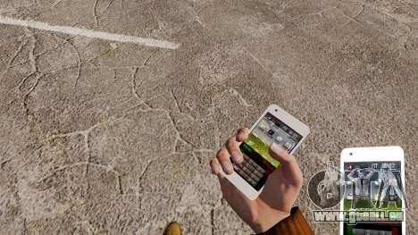 Tastatur Samsung Galaxy S2 für GTA 4 dritte Screenshot