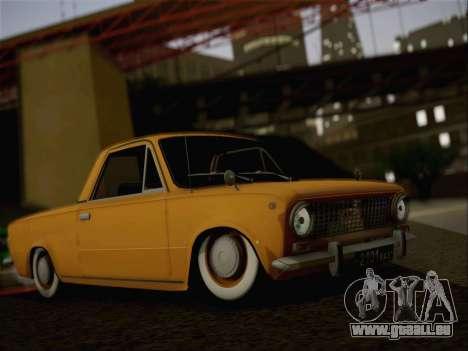 VAZ 2101 Resto für GTA San Andreas Rückansicht