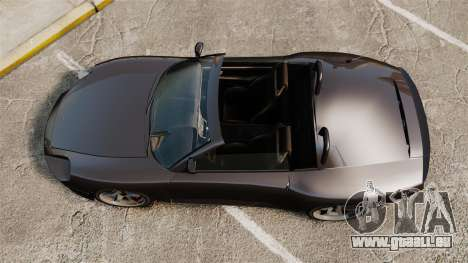Cabriolet comète pour GTA 4 Vue arrière de la gauche