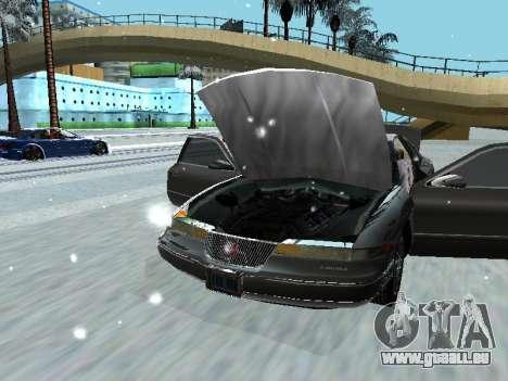 Lincoln Continental Mark VIII 1996 für GTA San Andreas zurück linke Ansicht