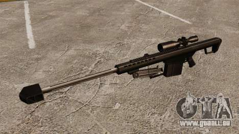 Le Barrett M82 sniper rifle v2 pour GTA 4 troisième écran