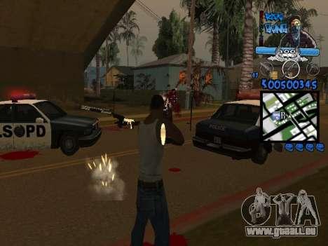 C-HUD für GTA San Andreas her Screenshot