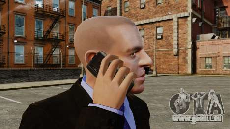 Communicator ZTE Blade pour GTA 4 quatrième écran