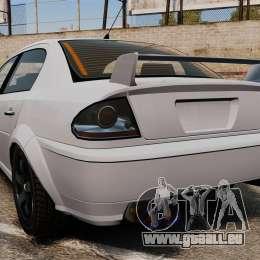 Mise au point du premier ministre version pour GTA 4 Vue arrière de la gauche