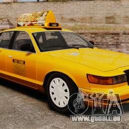 Taxi mit neuen Festplatten-v2 für GTA 4