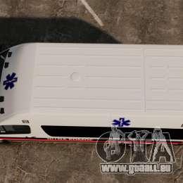 Mercedes-Benz Sprinter Zagreb Ambulance [ELS] pour GTA 4 est un droit