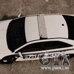 Ford Taurus Police Interceptor 2011 [ELS] für GTA 4 rechte Ansicht