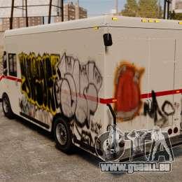 Neue Graffiti zu Boxville für GTA 4 rechte Ansicht