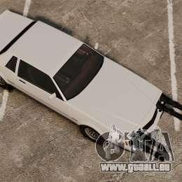 Sabre (c) miniganom pour GTA 4 Vue arrière de la gauche