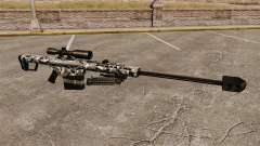 Le Barrett M82 sniper rifle v15