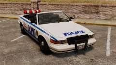 Die Cabrio-Version der Polizei