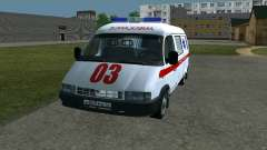 GAS-22172 Krankenwagen