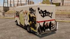 Nouveau graffiti à Boxville