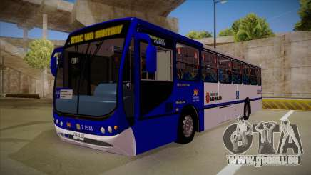 BUSSCAR URBANUSS PLUSS M.BENZ OF-1722 pour GTA San Andreas