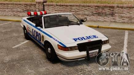 Die Cabrio-Version der Polizei für GTA 4