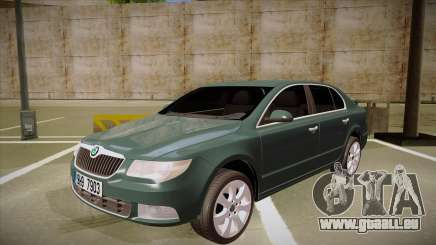 Skoda SuperB 2009 für GTA San Andreas