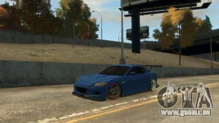 Mazda RX-8 R3 pour GTA 4