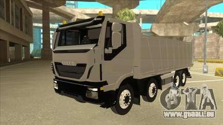 Salut-Land camion-benne Iveco pour GTA San Andreas