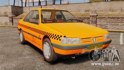 Peugeot 405 GLX Taxi pour GTA 4
