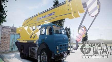 MAZ 500 KS3577-4-4 KRANEKS pour GTA 4