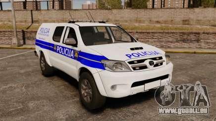 Toyota Hilux Croatian Police v2.0 [ELS] für GTA 4