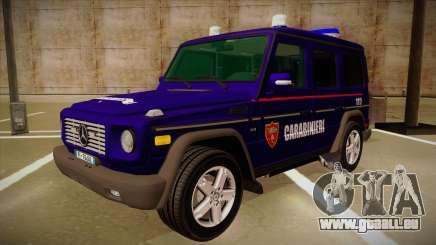 Mercedes Benz G8 Carabinieri für GTA San Andreas