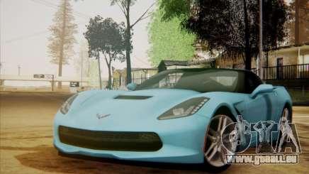 Chevrolet Corvette C7 Stingray 2014 pour GTA San Andreas