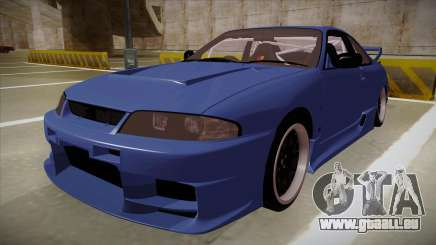 Nissan Skyline R33 JDM für GTA San Andreas