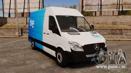 Mercedes-Benz Sprinter Spanish Television Van pour GTA 4