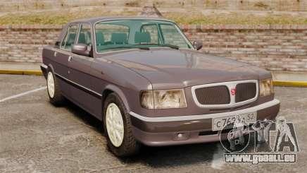 GAZ 3110 Volga für GTA 4