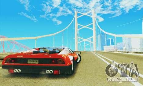Ferrari 512 BB pour GTA San Andreas vue arrière