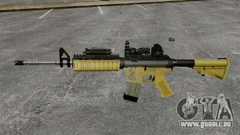 Automatiques M4 Red Dop v2 pour GTA 4 troisième écran