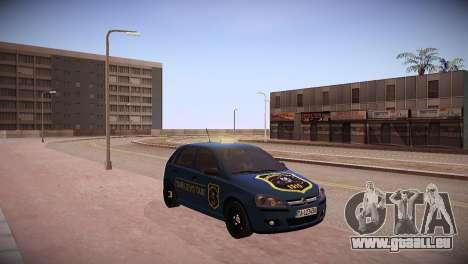 Opel Corsa C 2005 Sarajevo Taxi für GTA San Andreas zurück linke Ansicht
