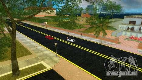 Nouvelles routes Starfish Island pour GTA Vice City