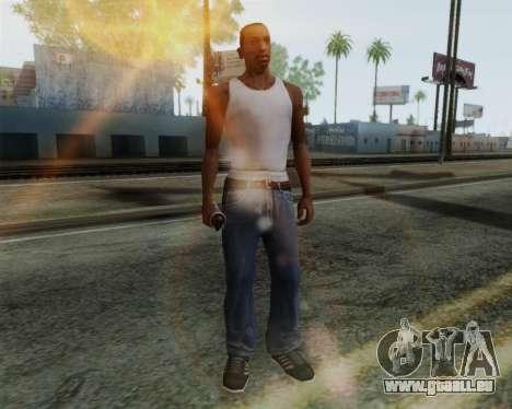 Grenade lumineuse HD pour GTA San Andreas deuxième écran
