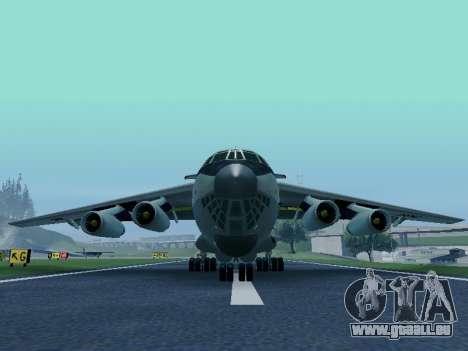 Il-76td v1.0 pour GTA San Andreas laissé vue