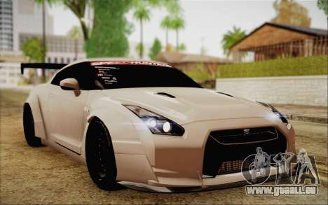 Nissan GT-R Liberty Walk pour GTA San Andreas