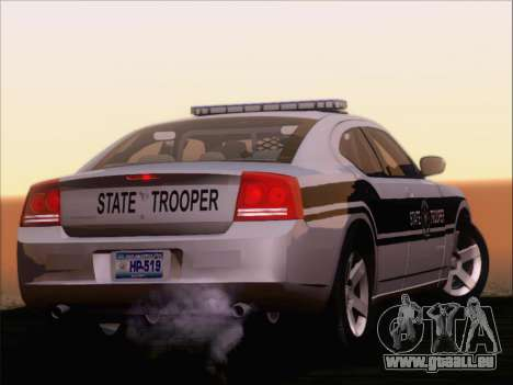 Dodge Charger San Andreas State Trooper für GTA San Andreas
