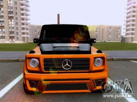 Mercedes-Benz G55 für GTA San Andreas zurück linke Ansicht
