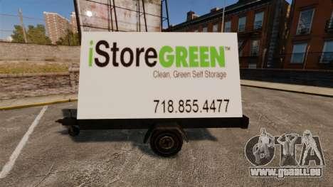 Neue Werbetafeln auf Rädern für GTA 4 weiter Screenshot