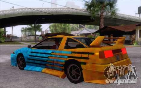Uranus Fix pour GTA San Andreas vue arrière