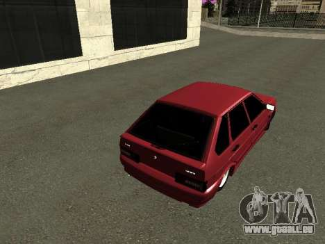 ВАЗ 2114 BPAN pour GTA San Andreas vue de droite