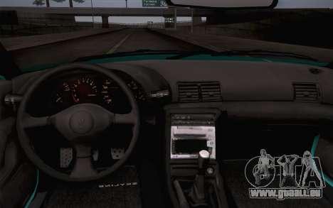 Nissan Skyline R32 Stella für GTA San Andreas Rückansicht