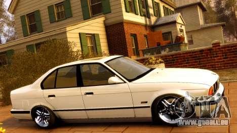 BMW M5 E34 1995 für GTA 4 Seitenansicht