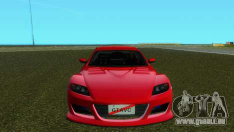 Mazda RX8 Type 1 für GTA Vice City linke Ansicht