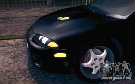 Mitsubishi Eclipse Fast and Furious für GTA San Andreas Innenansicht