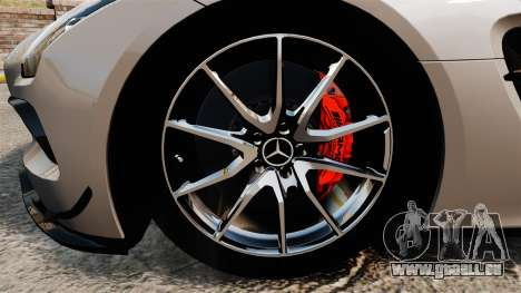 Mercedes-Benz SLS AMG Black Series 2014 pour GTA 4 Vue arrière